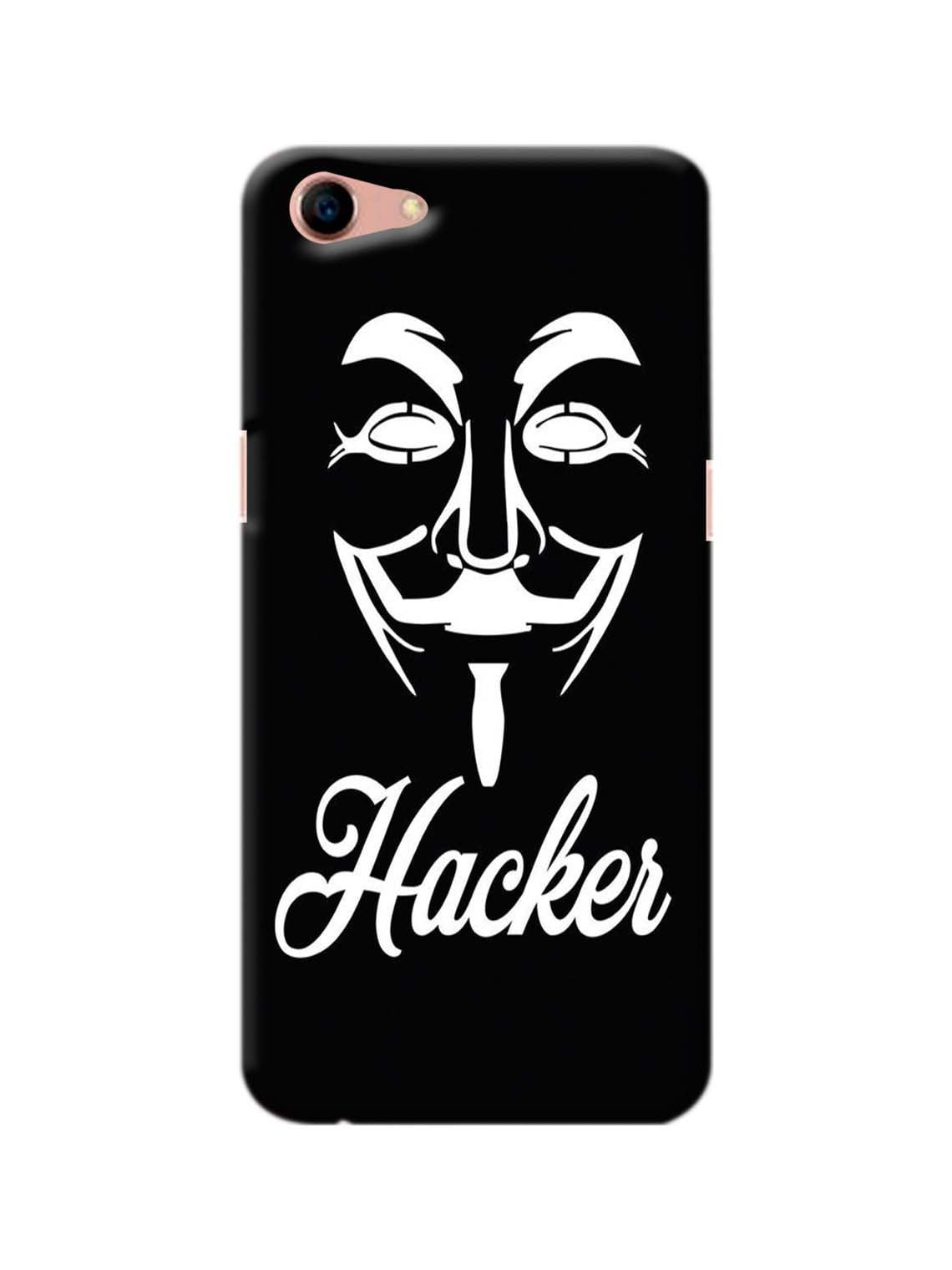 Hacker Printed Mobile Case For Oppo A83