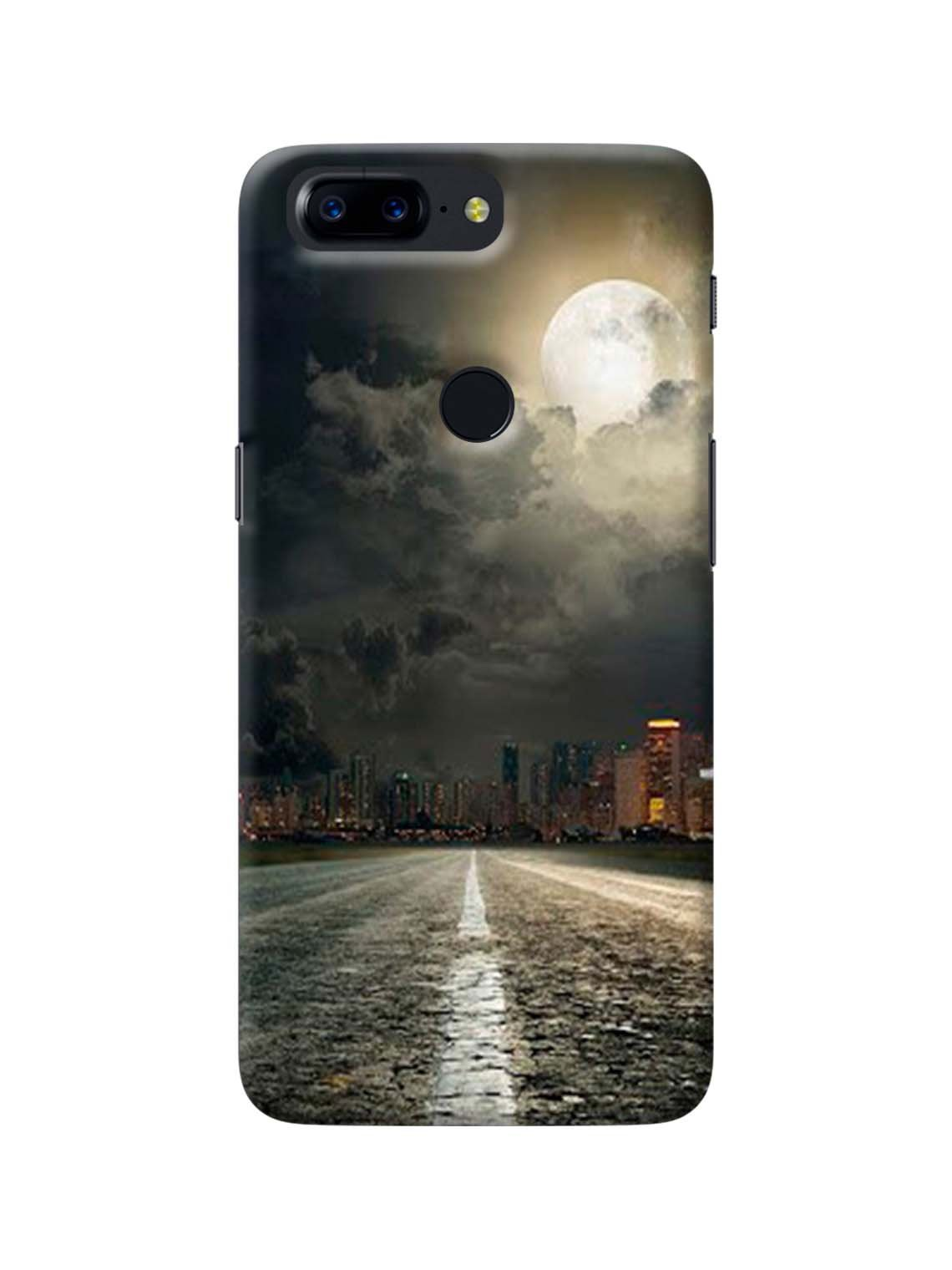 sports shoes ef4cb 02ccd Moon Way Printed Mobile Case For OnePlus 5T