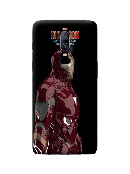 new concept 10ad1 eb709 Ironman Pinted Mobile Case For OnePlus 6