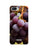 Black Grapes Printed Mobile Case For Redmi 6 Cases