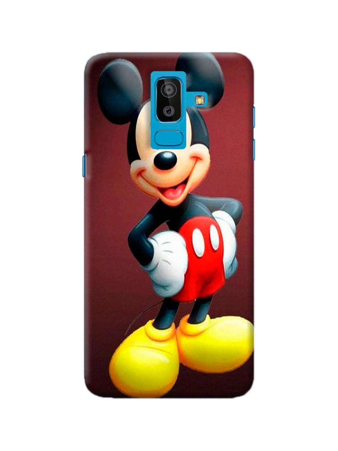 cheap for discount fdde0 91ac9 Mickey Mouse Printed Mobile Case For Galaxy J8