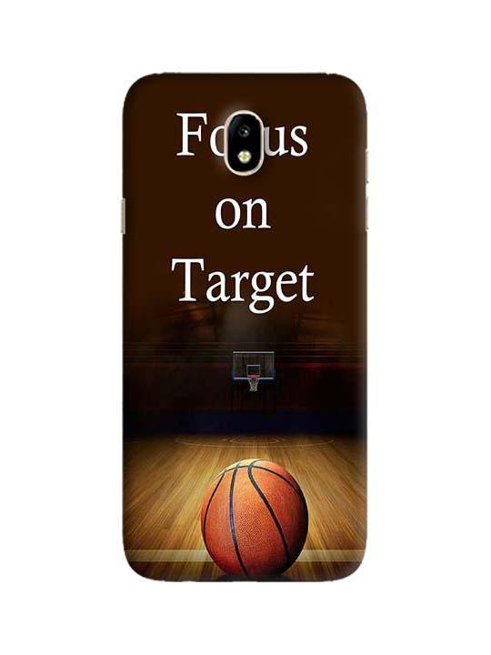 best service 462bb 6620c Focus On Target Pinted Mobile Case For Galaxy J7 (2017)