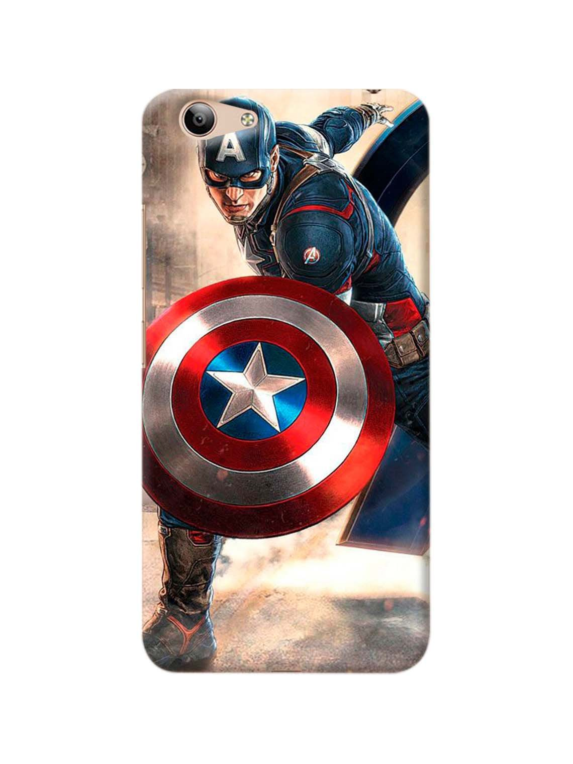 Captain America Printed Mobile Case For Vivo Y53