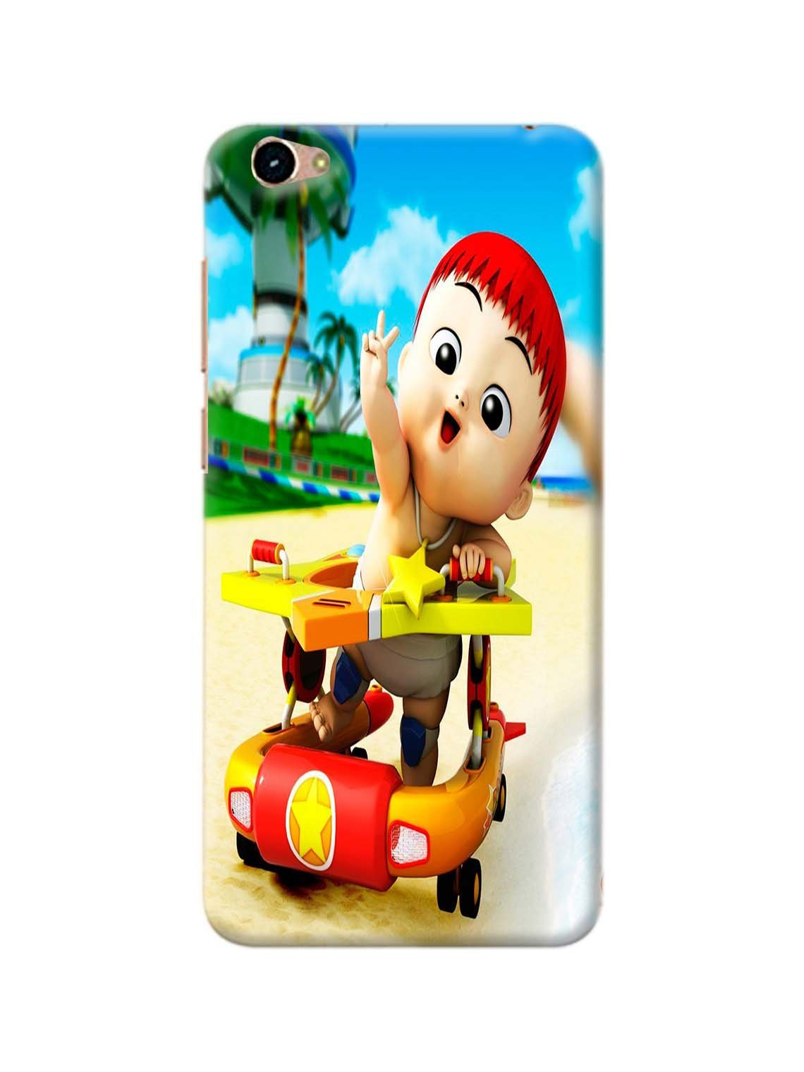 Cute Baby Printed Mobile Case For Vivo Y55S