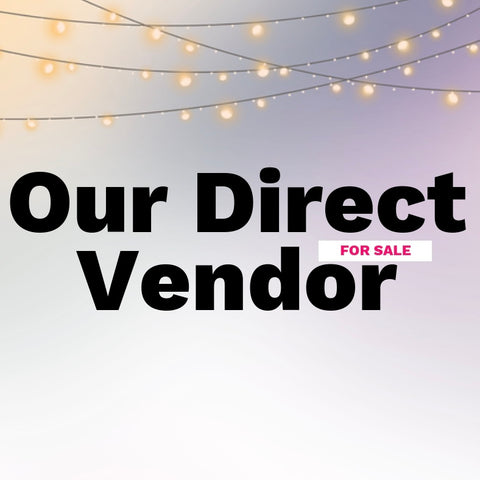 Our Direct Contact Vendor