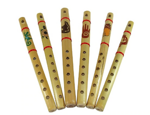 Natural Frontier Painted Flute 12""
