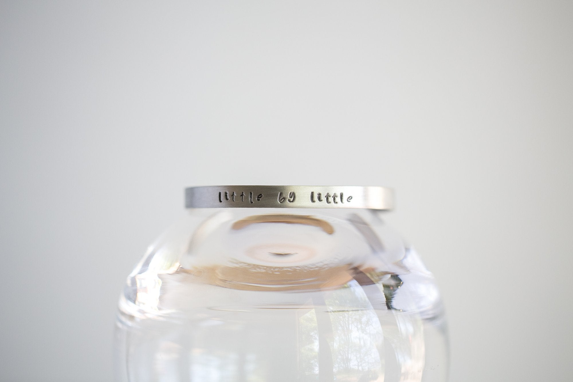Little By Little Cuff - Aluminum