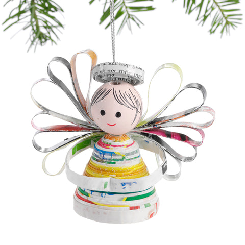 Happy Angel Ornament