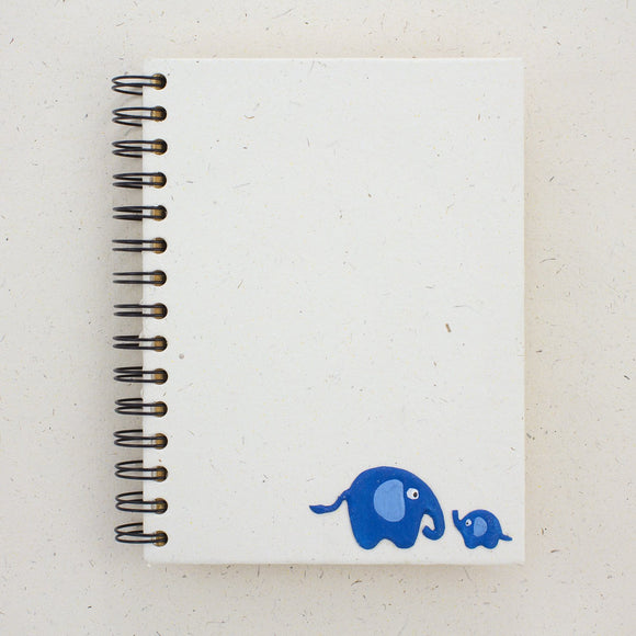 Large Baby Blue Notebook