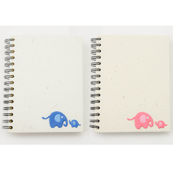Large Baby Pink Notebook