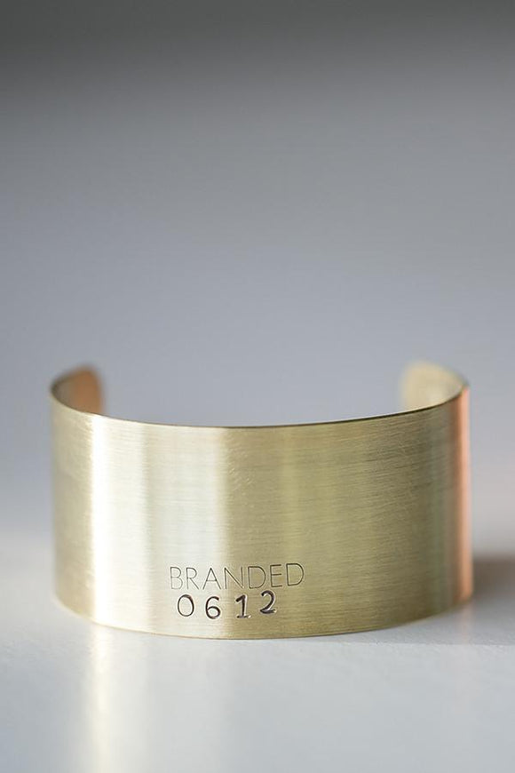Medium Brass Cuff