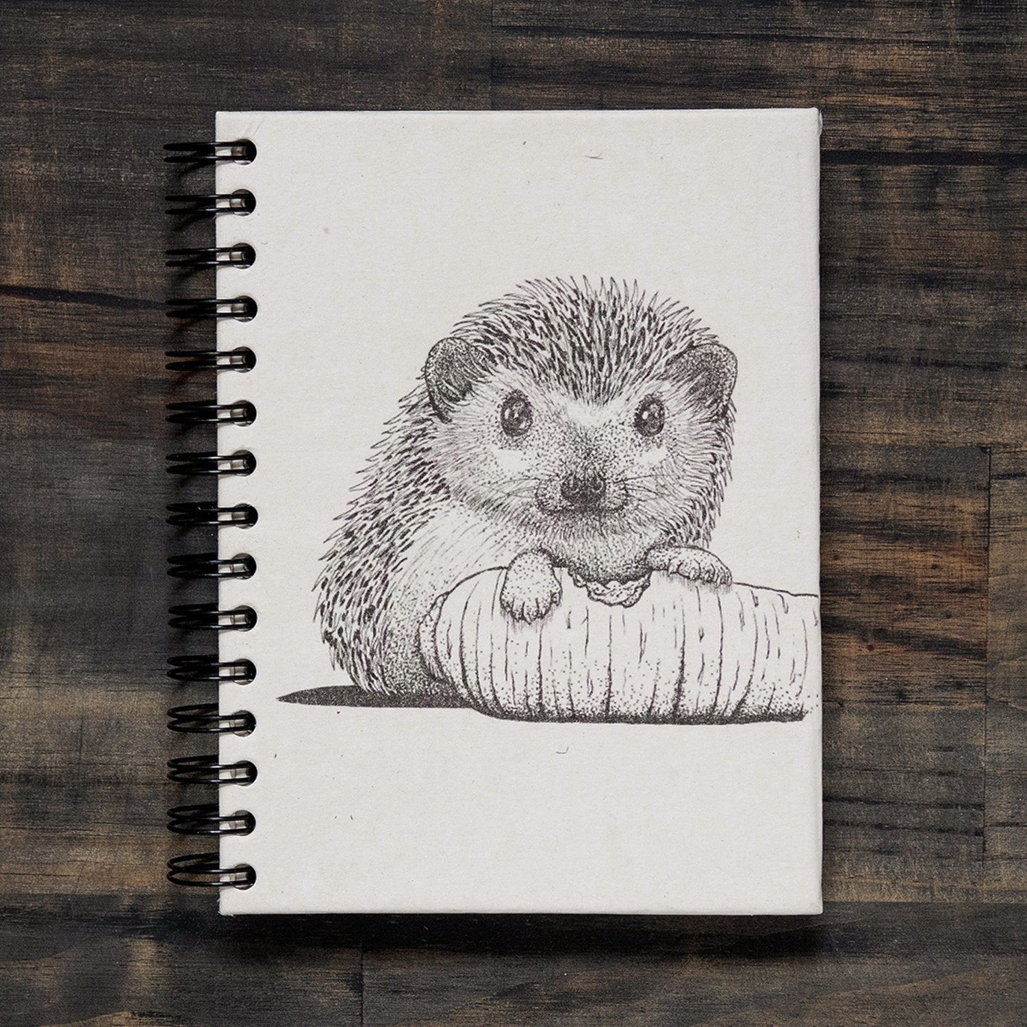 Large Hedge Hog Notebook