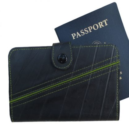 Recycled Tire Passport Wallet