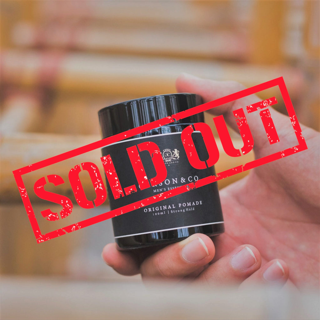Original Pomade sold out