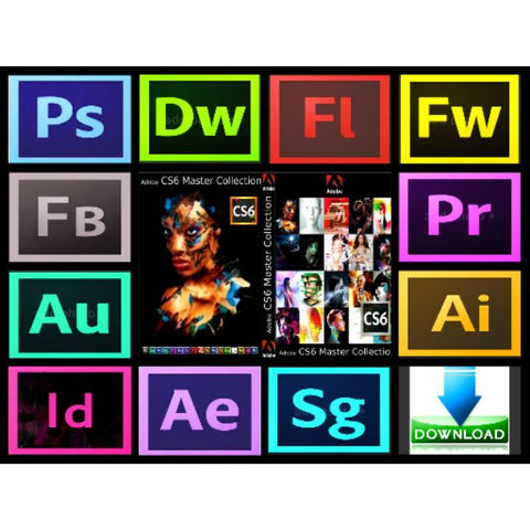 Adobe Master Collection CS6 Full Version for Mac