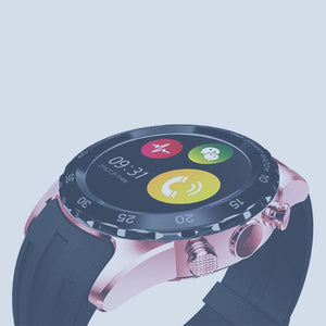 KW08 1.22'' BT3.0 Camera0.3MP Smartwatch