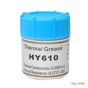 CPU PC Cooler Heatsink Thermal Grease Conductive Silicone Grease Gold Silicone 10g Graphics Card Computer Accessories