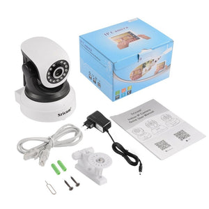 Sricam 1280*720 Indoor Security Camera Waterproof Wireless Wifi House Webcam Motion Detectioin Alarm Real Time Monitoring
