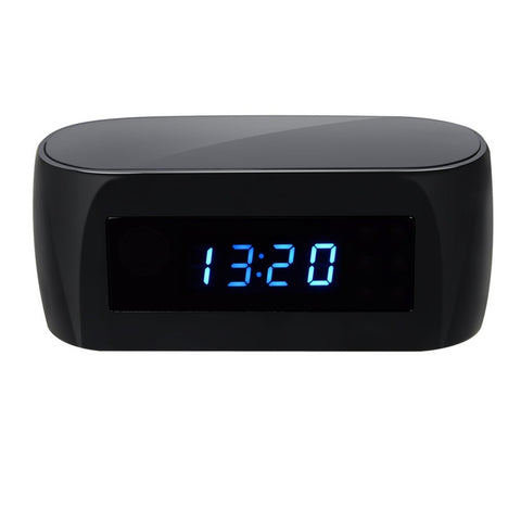 Z16 140 Degree Ultra Wide Angle Camera Clock Alarm 1080P Wireless Wifi Night Vision Room Home Security Cam Camcorder