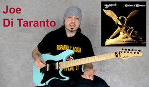 Joe Di Taranto and his Schecter Super Shredder
