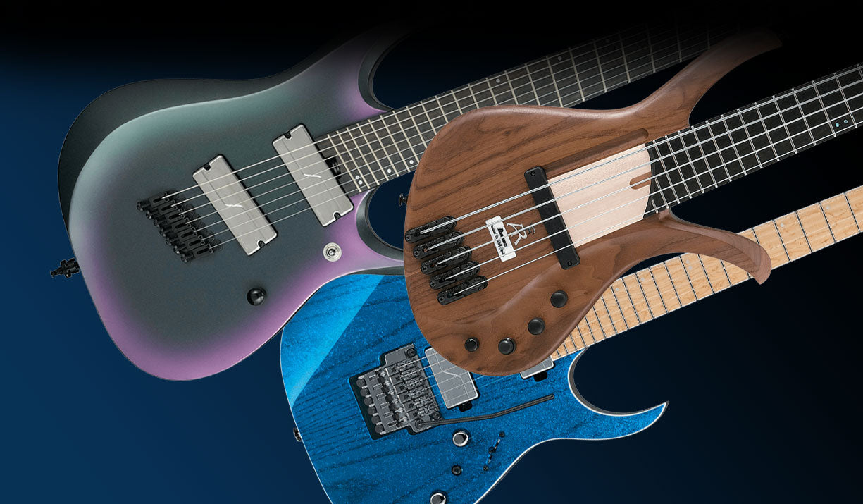 Ibanez Guitars - New Models for 2019