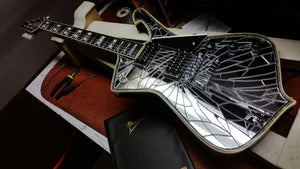 Everything Begins With An Idea - The Story of how Paul Stanley's Cracked Mirror Ibanez Came to Be.