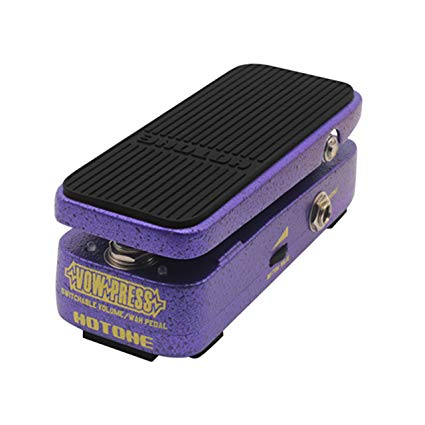 HOTONE VP-10 HOTONE VOW PRESS SWITCHABLE VOLUME/WAH PEDAL