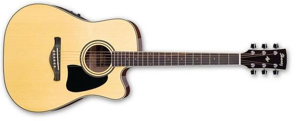 IBANEZ AW70ECE-NT ARTWOD JUNIOR ACOUSTIC GUITAR - NATURAL - The Guitar World
