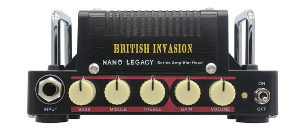 Hotone British Invasion 5 Watt Class AB guitar amplifier head - The Guitar World
