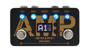 Hotone Binary Amp CDCM Amplifier Simulator Effects Pedal - The Guitar World