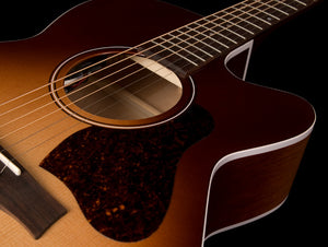 SEAGULL ENTOURAGE AUTUMN BURST CH CUTAWAY ACOUSTIC ELECTRIC 046485 - The Guitar World
