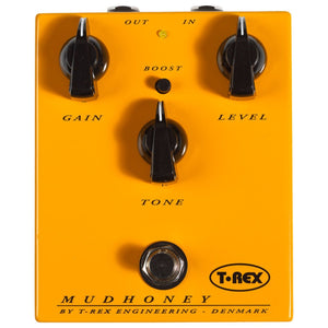 T-REX Classic Mudhoney Danish Custom Shop Distortion Pedal 10040 - The Guitar World
