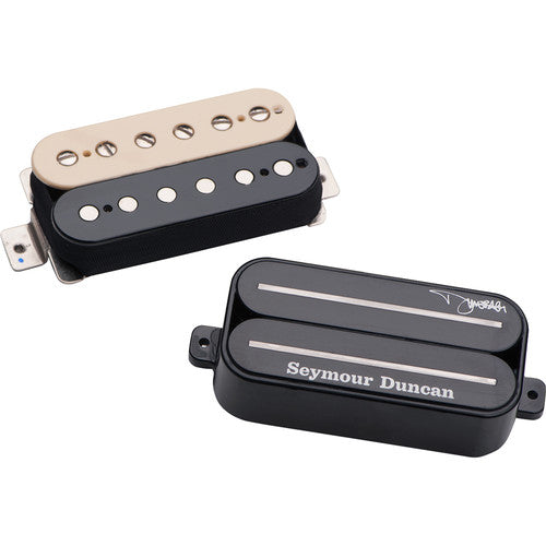 Seymour Duncan Dimebag Humbucker Set for Neck and Bridge Zebra 11102-83-Z