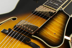 Ibanez LGB300-VYS George Benson Signature Hollow Body Guitar in Vintage Yellow Sunburst - The Guitar World