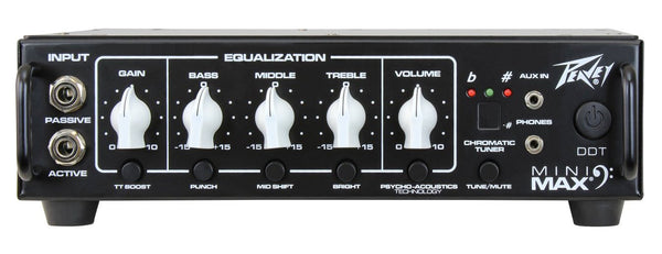 PEAVEY MiniMAX BASS AMPLIFIER HEAD