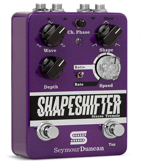 Seymour Duncan Shape Shifter Stereo Tremolo Guitar Pedal 11900-005
