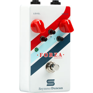 Seymour Duncan Forza Overdrive Effects Pedal with Level Drive Bass Mid and Treble Controls 11900-010
