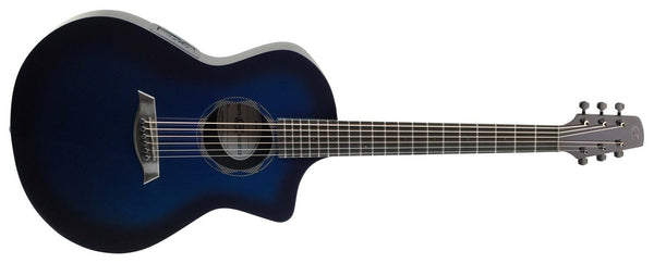 Composite Acoustics OX High Gloss Blue - The Guitar World
