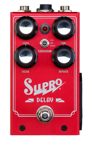 Supro All Analog Delay Effects Pedal Standard 1313