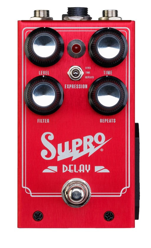 Supro All Analog Delay Effects Pedal Standard 1313 - The Guitar World