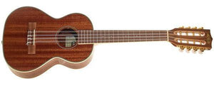 KALA 8 String Tenor Gloss Mahogany Ukulele with EQ KA-8E - The Guitar World