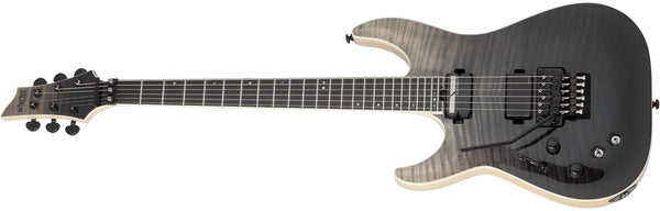 Schecter C-1 FR-S SLS Elite with Floyd Rose Left-handed - Black Fade Burst 1364-SHC