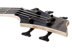 Schecter SLS Elite-4 Left handed Electric Bass Black Fade Burst 1398-SHC - The Guitar World