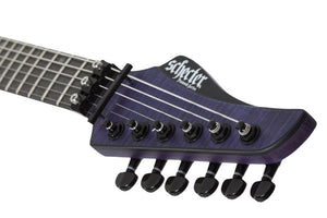 Schecter Banshee GT FR 6-String Electric Guitar in Trans Purple 1521-SHC - The Guitar World