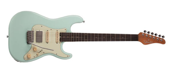 Schecter Nick Johnston Traditional HSS 6-String Electric Guitar in Atomic Frost 1542-SHC - The Guitar World