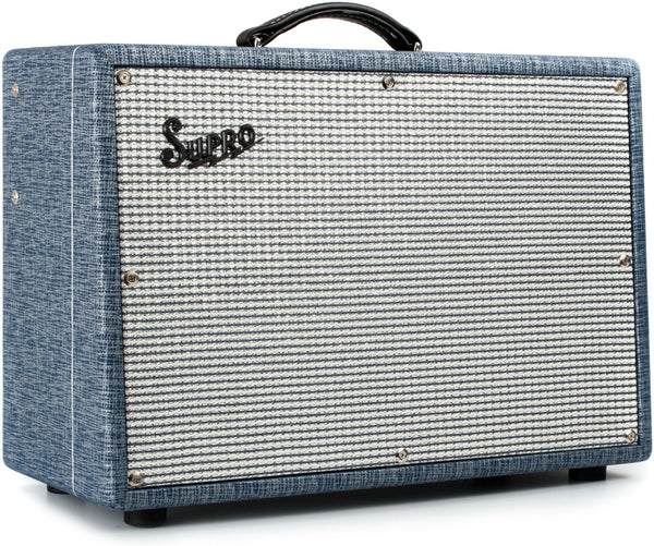 "Supro Dual-Tone 24-watt 1x12"" Tube Combo 1624T - The Guitar World"