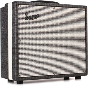 "Supro Black Magick 25-watt 1x12"" Tube Combo 1695T - The Guitar World"
