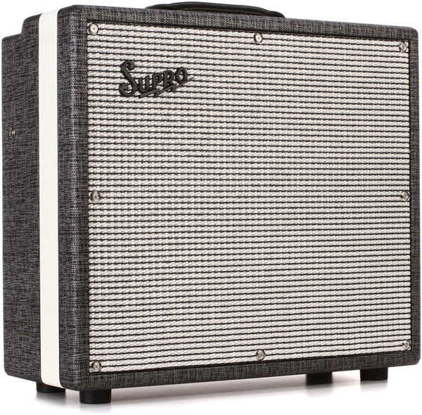 "Supro Black Magick 25-watt 1x12"" Tube Combo 1695T"