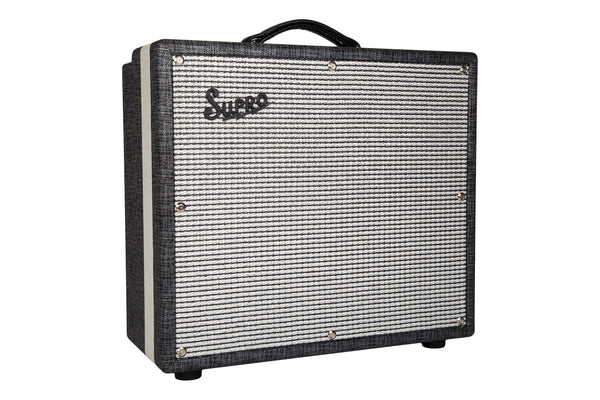 "Supro Statesman 2-Channel 50-Watt 1X12"" Tube Combo 1699R - The Guitar World"