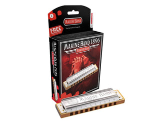Hohner Marine Band, Key Of D Major 1896BX-D - The Guitar World